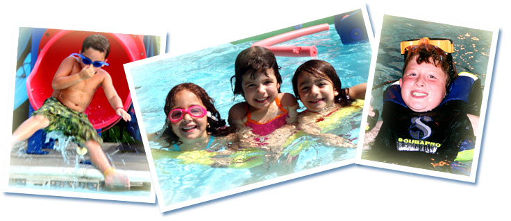 Pierce Day Camp Swimming Activities